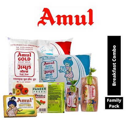 Amul Regular Delivery Combo (Milk + Bread)