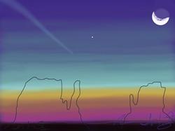 Monument Valley Sunrise III