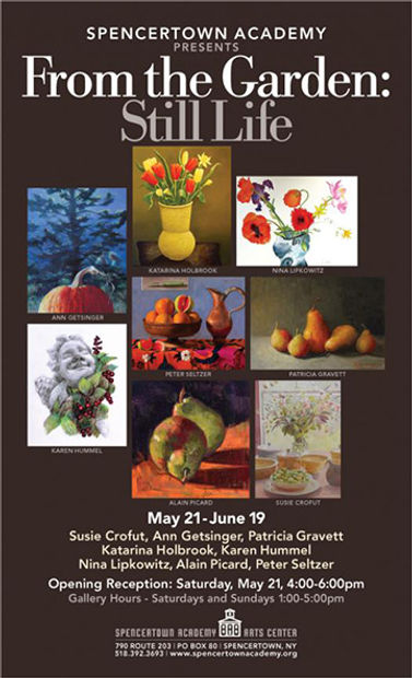 From the Garden Show Poster