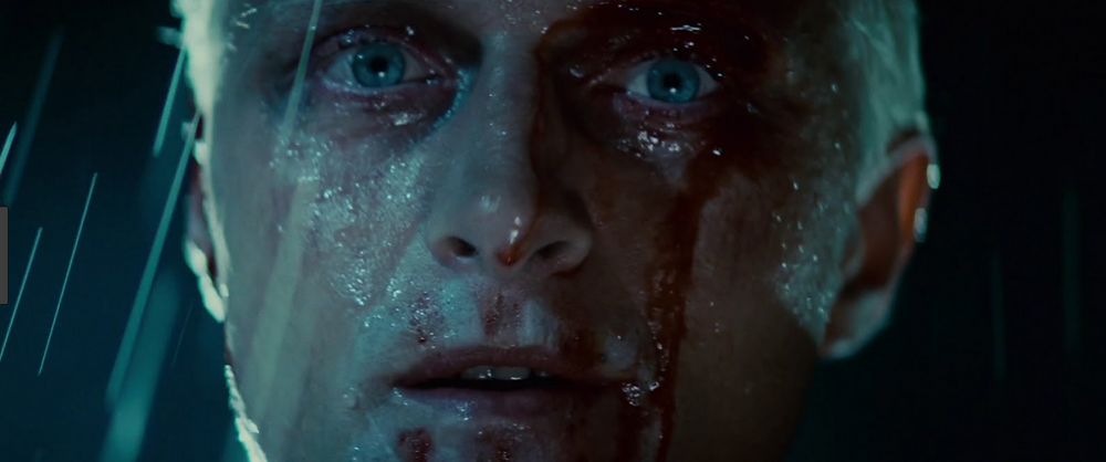 Blade Runner: Roy Batty, played by Rutger Hauer