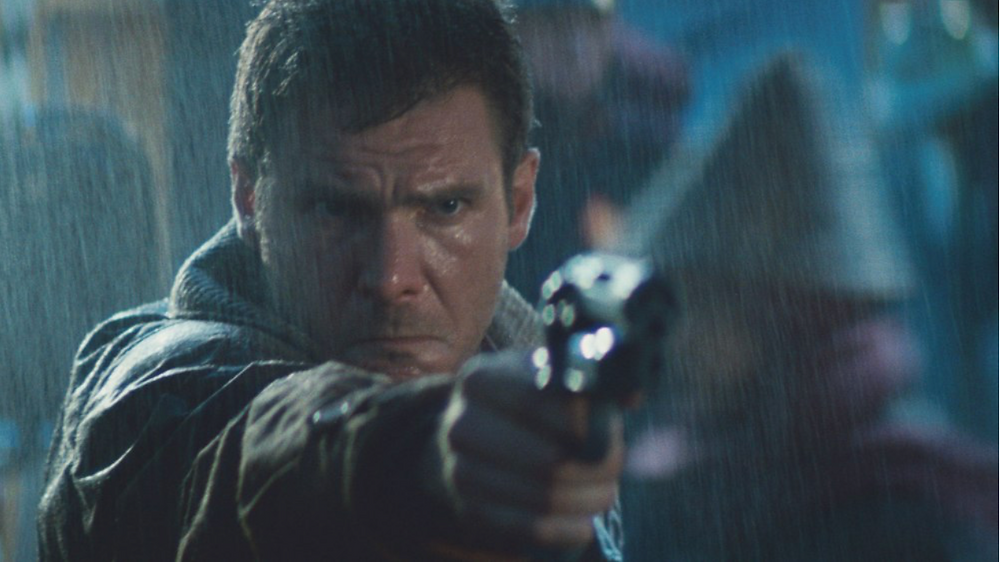 Blade Runner: Rick Deckard, played by Harrison Ford
