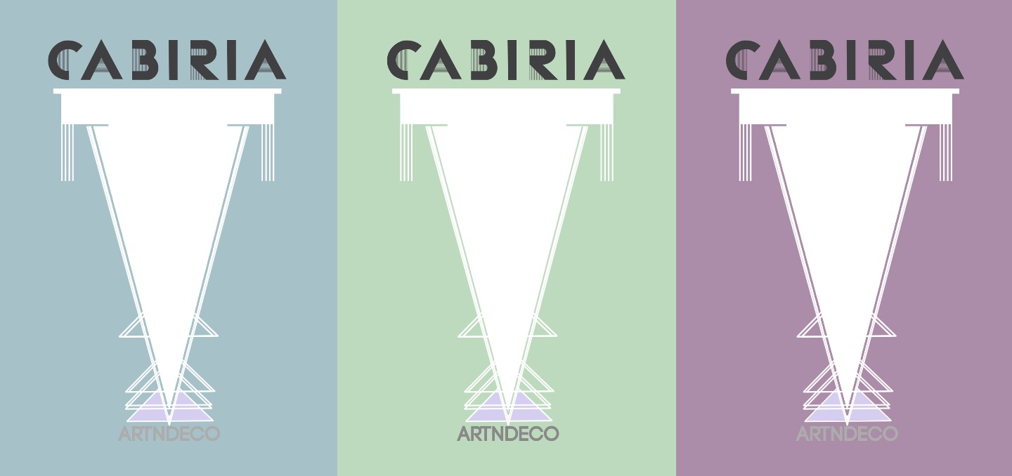 cabiria artndeco business card