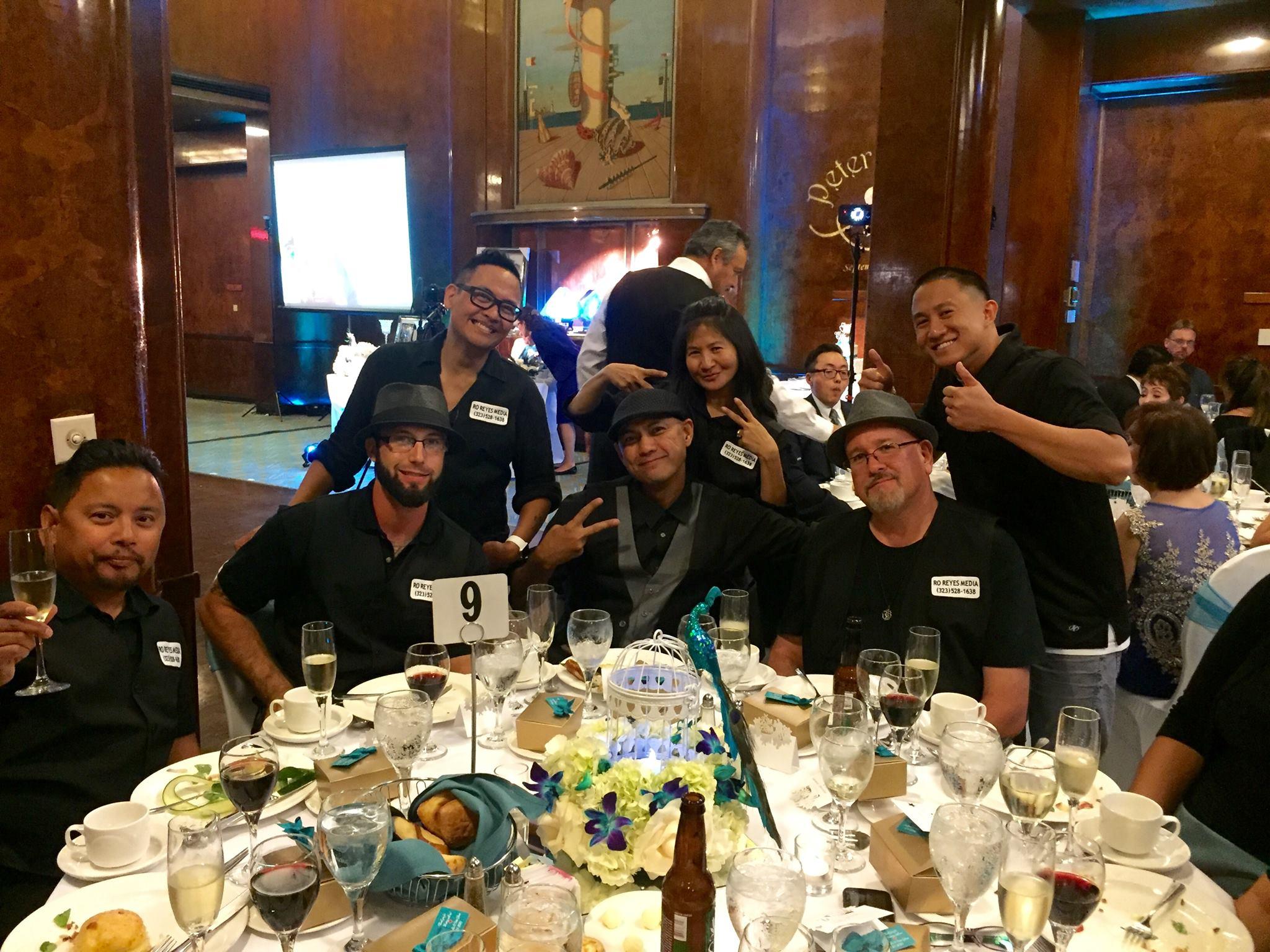 Jun, Nick, Ro, Chris, Rowena, David, RB