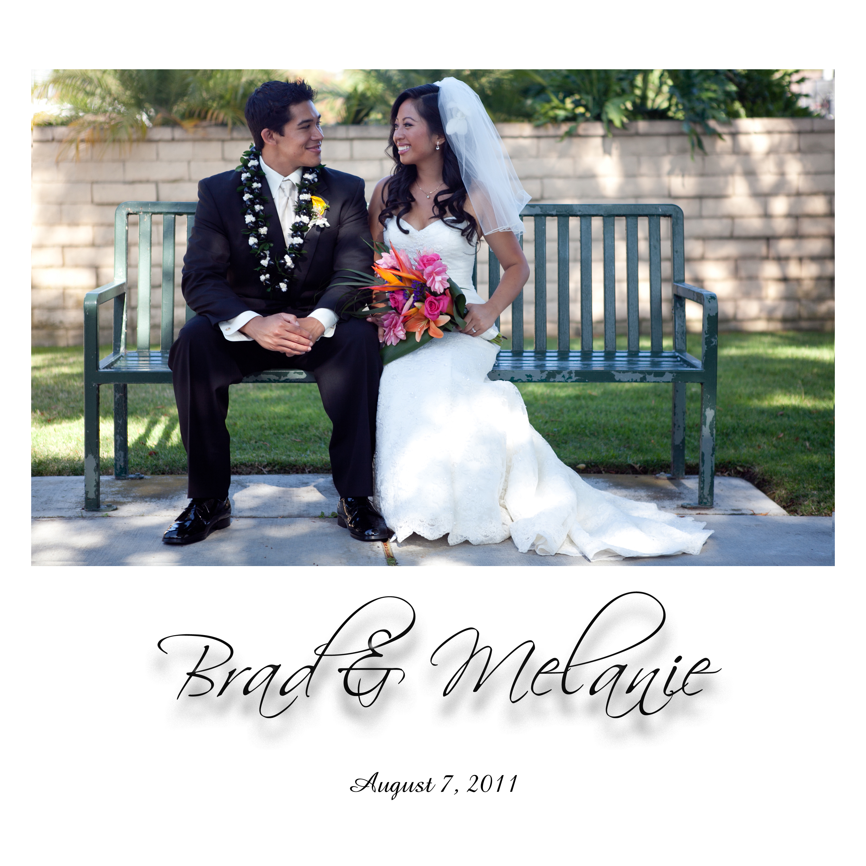 brad n mel front cover