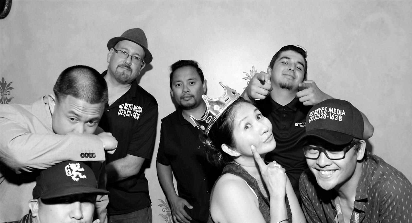 RB, Roniel, David, Jun, Rowena, Alex