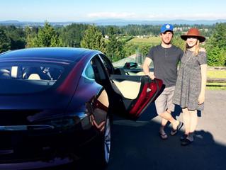 Thanks for a De Vine Tesla Tour!