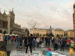 Krakow town square