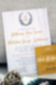 Custom 5x7 Wedding Invitation by Nonsensical Invitations. www.nonsensicalinvites.com