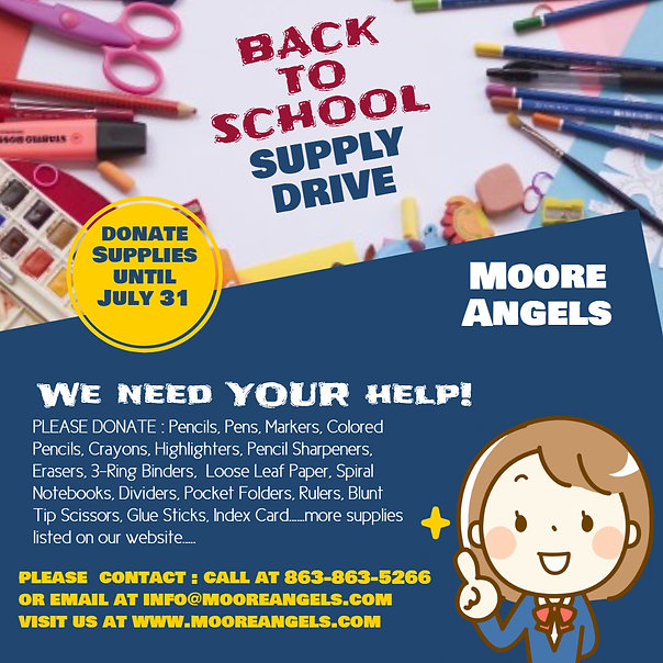 Copy of Back to School Supply Drive Inst