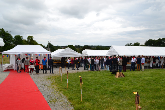 Inauguration de la nouvelle usine Atulam