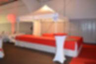 chaises tables tentes mange-debout buffet housses matériel forain - ALS Animation Location Services