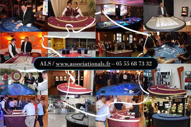 La soirée Casino toujours aussi populaire pour les événements d'entreprises ...