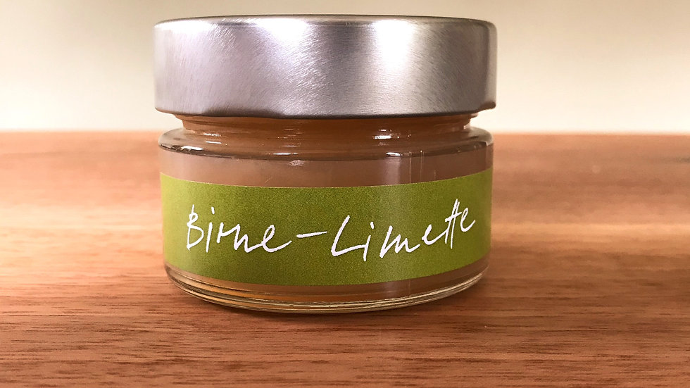 Birne-Limette Fruchtaufstrich