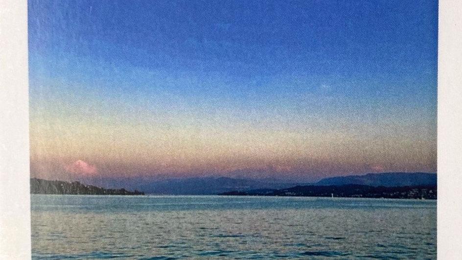 Postkarte Zürichsee