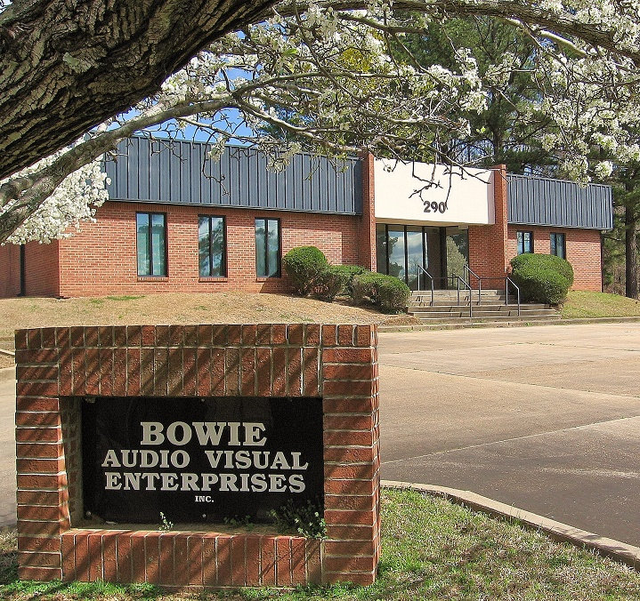 Bowie Audio Visual building