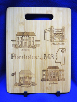 Pontotoc, MS cutting board