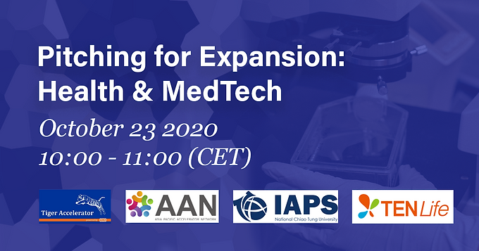 Pitching for Expansion 2020Q4: Health & Medtech