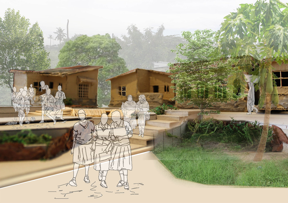 Wetland leisure spaces. Moumakoe, BMK. Unit 15X. 2020.