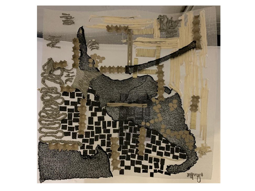 Tapestry of Tin City. Harper, N. Unit 18. 2020.