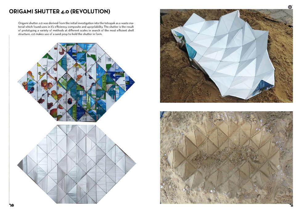 Origami Shutter 4.0. Stephan, T. Unit 17. 2020.