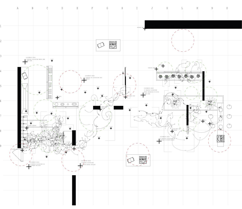 Reconfigured Kitchen. Shaw, S. Unit 14. 2020.