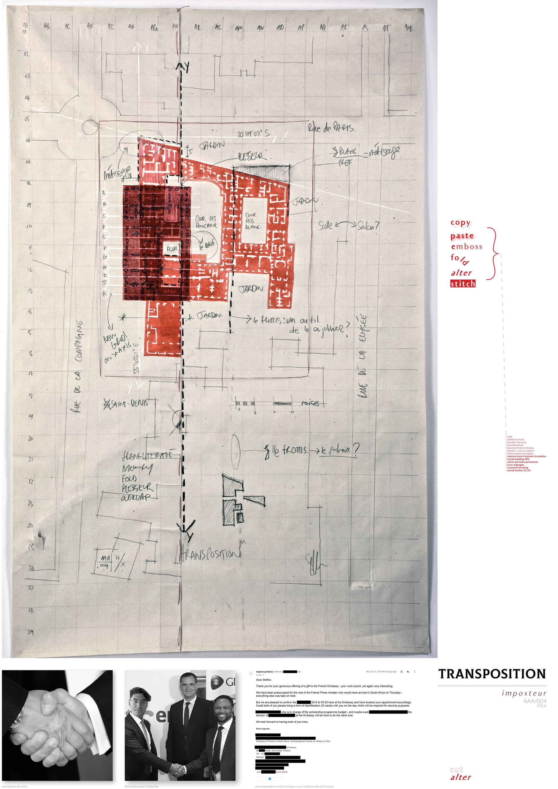 Transposition (Almanac I/II). Fischer, S. Unit 12. 2018