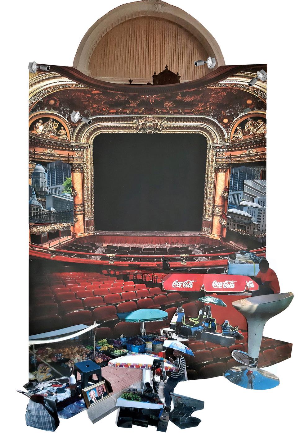 Theatres Under Surveillance. Boshoff, L. Unit 19. 2020.