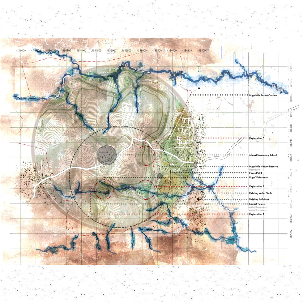 Analysis: Water and Topography. Williams, C. Unit 15X. 2020.