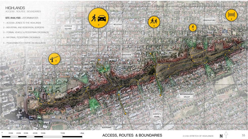 Site analysis- Access. Routes & Boundaries . Hassett, W. Unit 17. 2020.