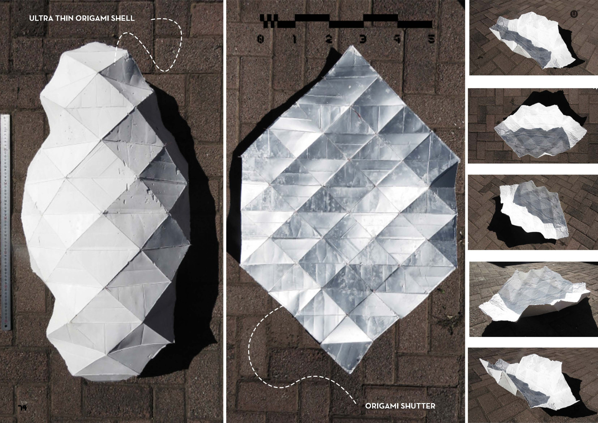 Origami Shutters 4.0 (2). Stephan, T. Unit 17. 2020