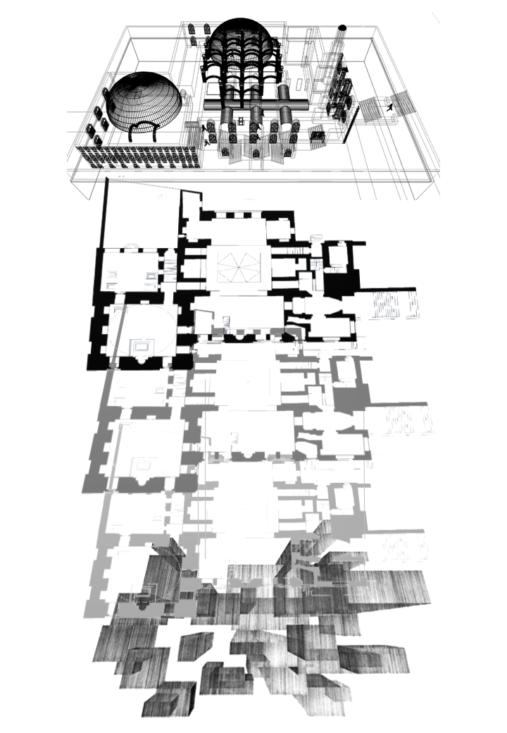The Above, below & In-between. Harper, N. Unit 18. 2020.