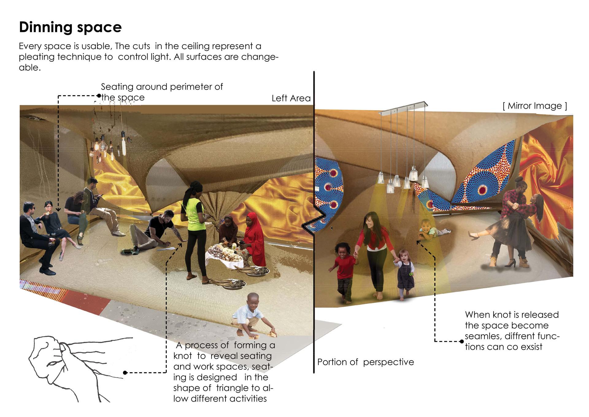 Communal Spaces. Jele, N. Unit 17. 2020.