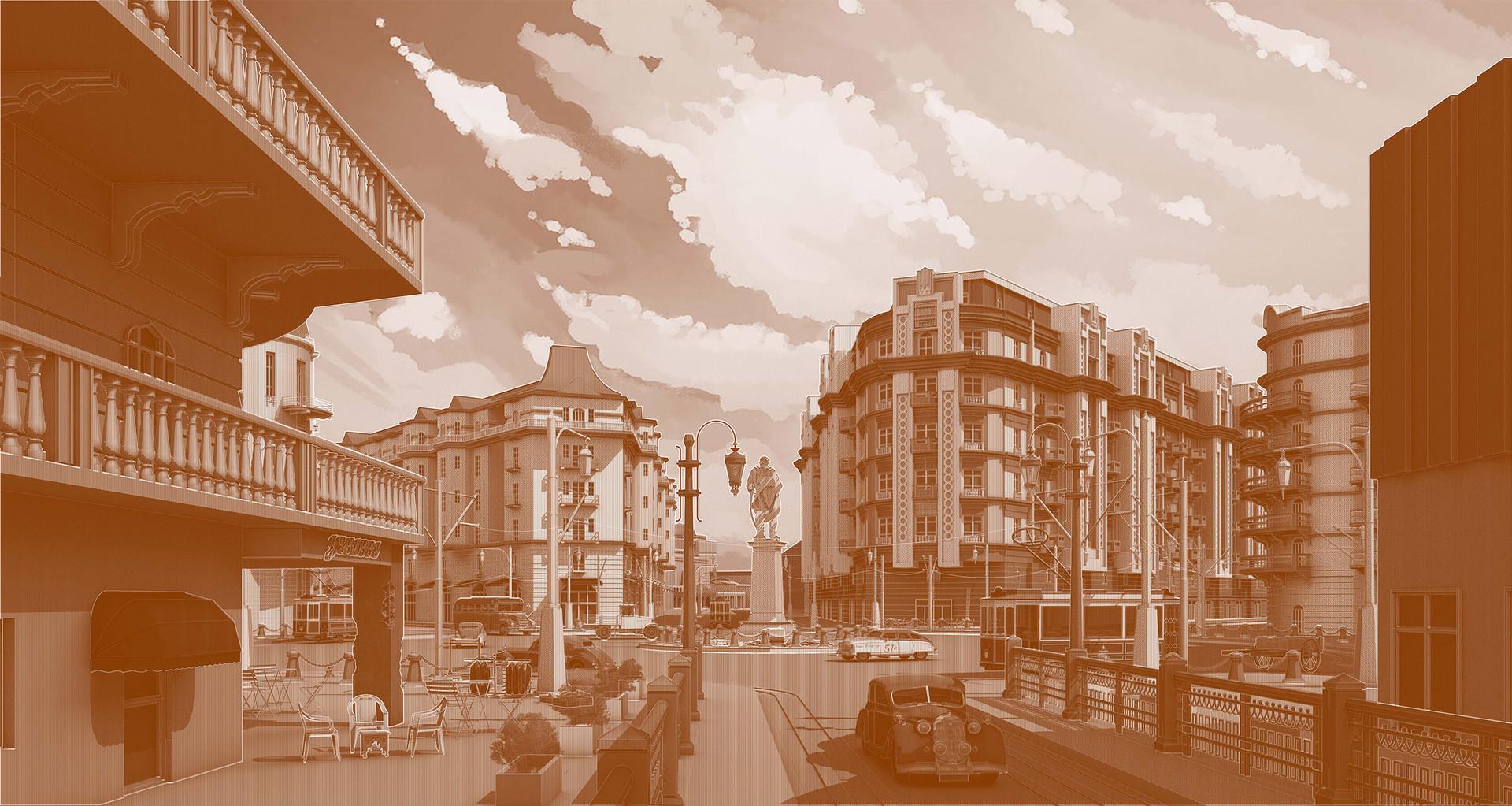 Belle Epoch Downtown Cairo. Ranchod, K. Unit 18. 2020.