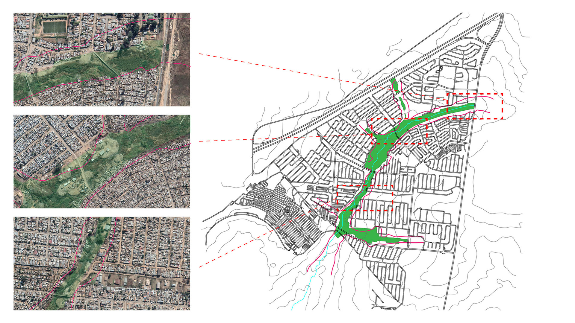 Diepsloot flood risk. Stevenson, S. Unit 17. 2020