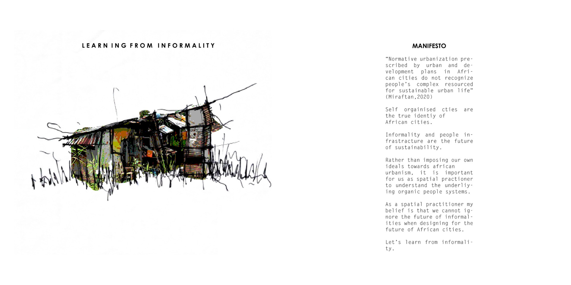 LEARNING FROM INFORMALITY, Lesolle, L. Unit 15X. 2020.