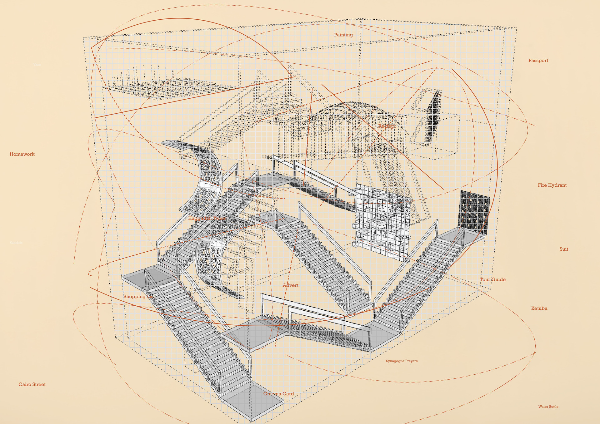 Archive of the Everyday: Museum Map. Abrams, G. Unit 18. 2020.