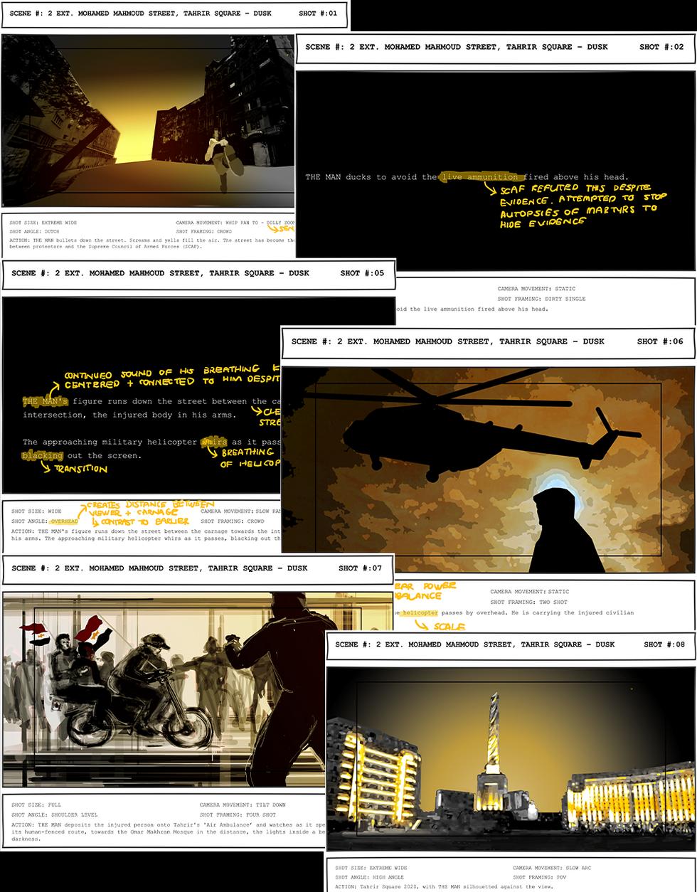The Storyboard. Mula, F. Unit 18. 2020.