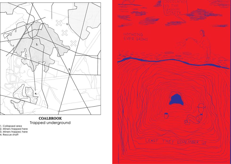 Coalbrook, trapped underground. Sedibe, PN. Unit 13. 2020