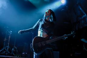 Cat La Chappelle Ventenner Bass Player