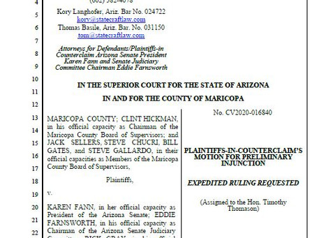 PLAINTIFFS-IN-COUNTER CLAIM'S MOTION FOR PRELIMINARY INJUNCTION