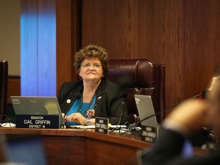 Senator Griffin's SB 1184, designed to restore funding to the Arizona Geological Survey, heads t