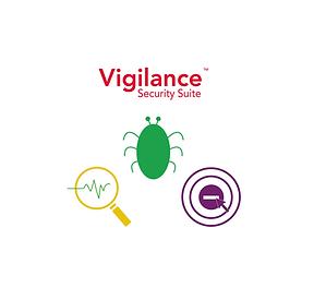 Microminder's Vigilance Security Suite: Sentinel Managed Antivirus, Spydaweb Browser Control, Symon System Monitoring