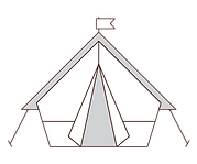 Glamping - Bell tent - Teepee hire - Tip