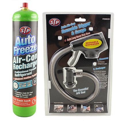 STP Autofreeze Air Con Recharge Kit