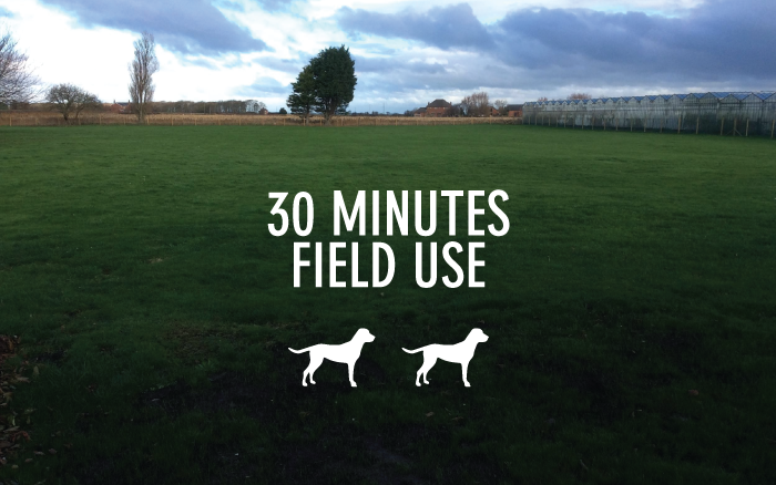 30 Minutes Field Use