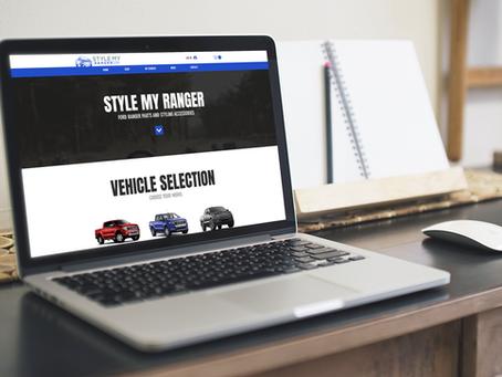 Style My Ranger Website Launch