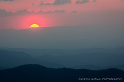 Clingmans Dome Sunset Smoky Mountains 5