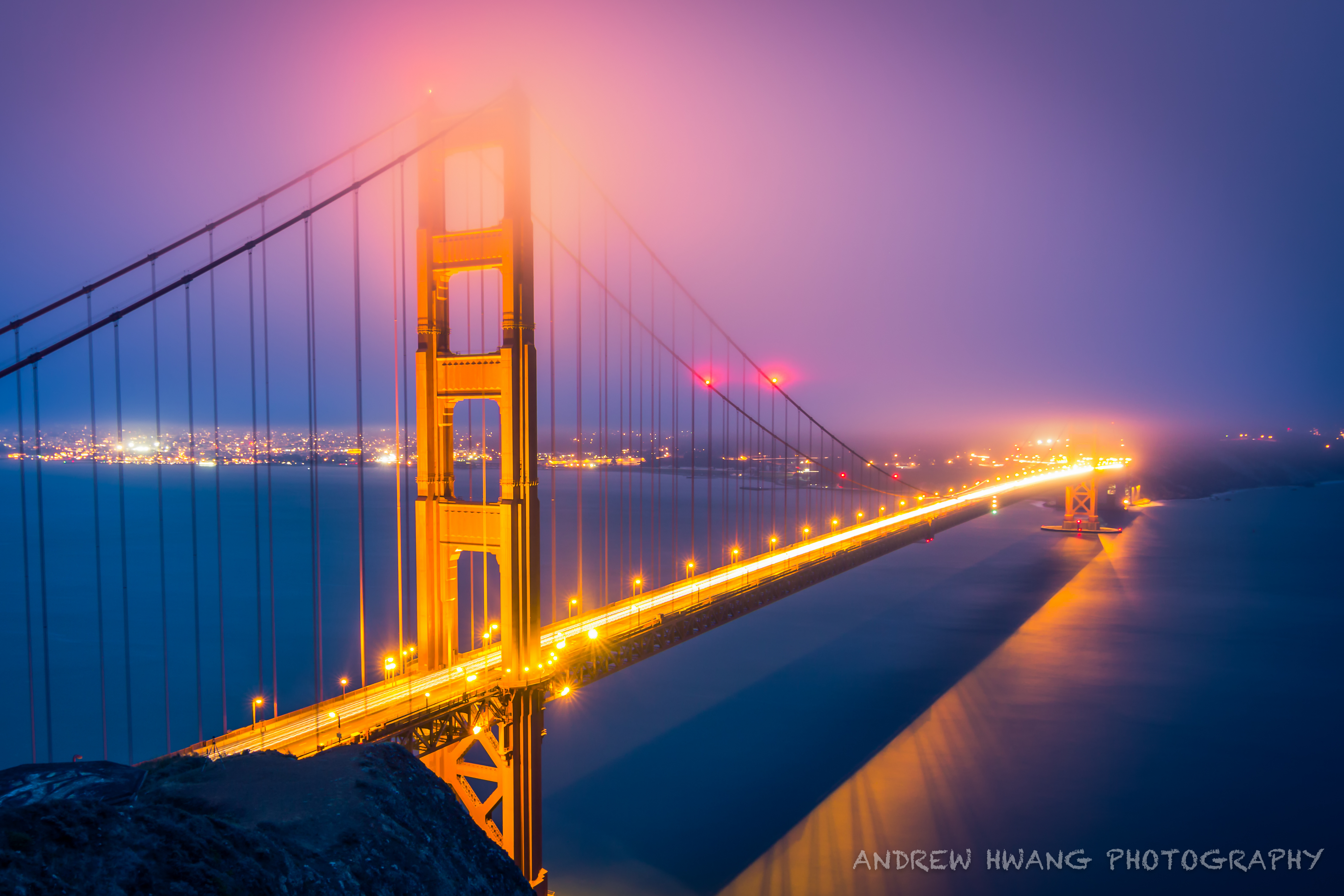 Golden Gate Bridge Night Shot