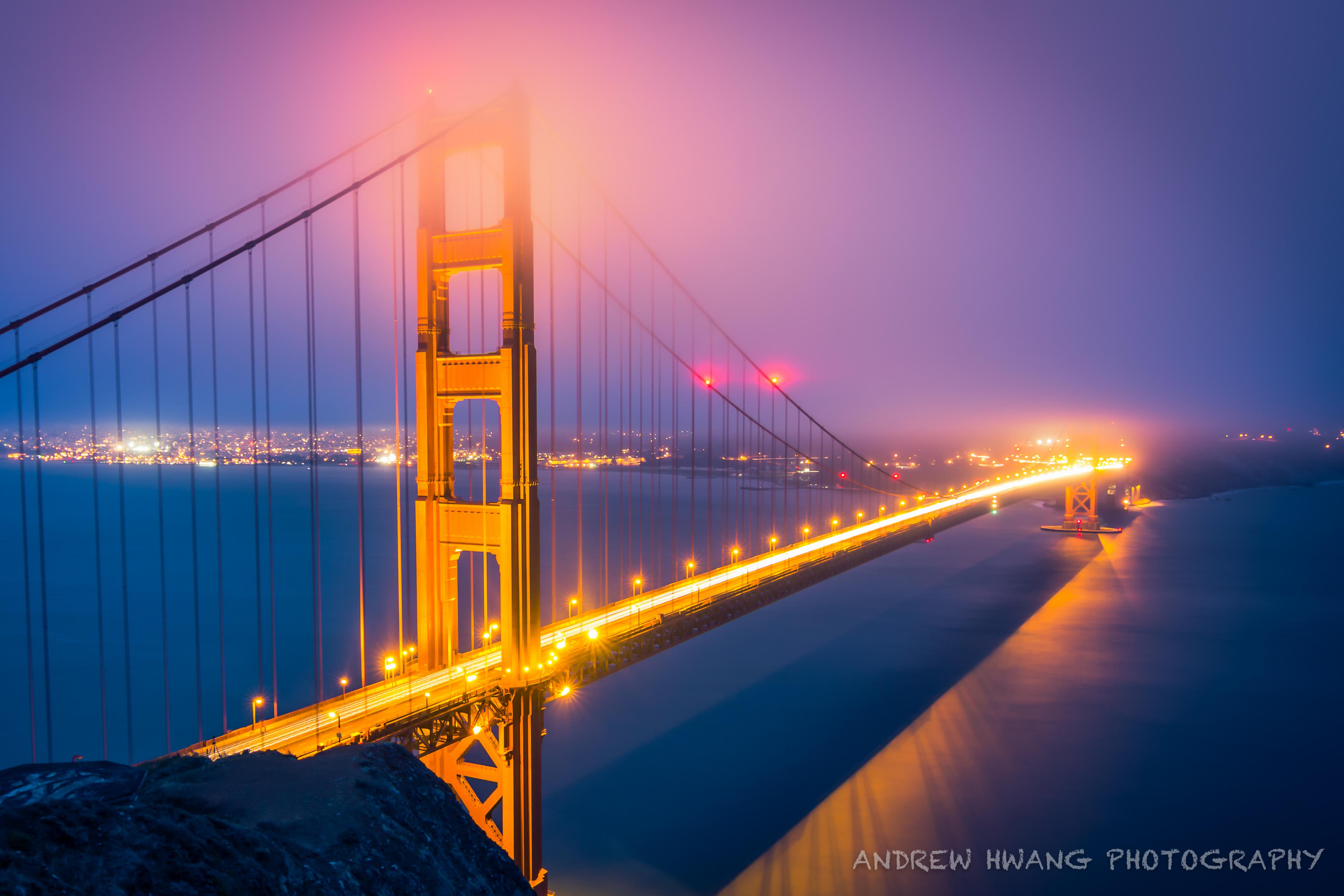 Golden Gate Bridge Night Shot