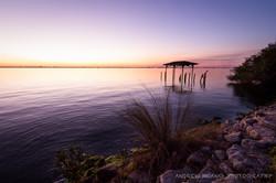Melbourne Fl Sunset Rocks 5
